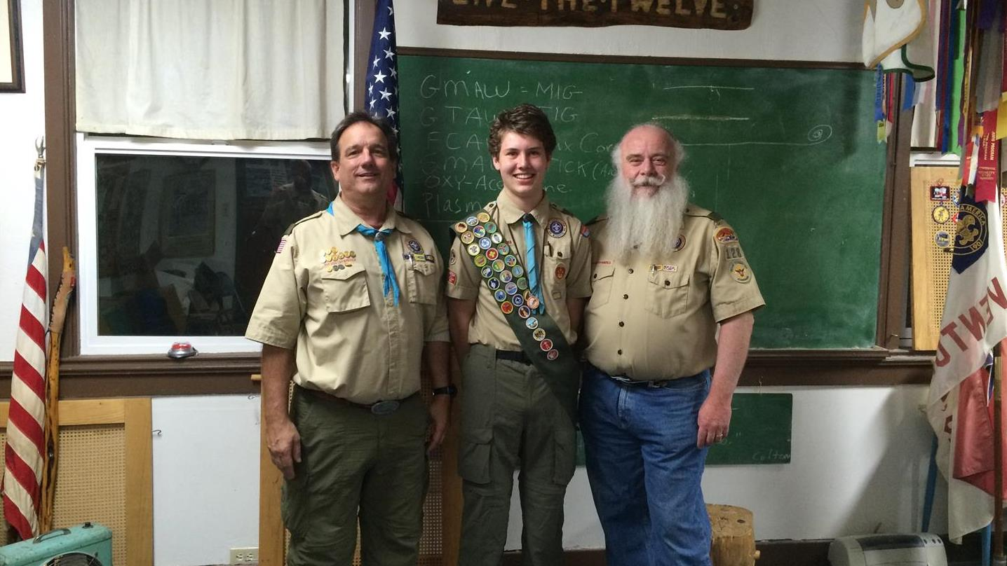 Colin Summers Eagle Scout