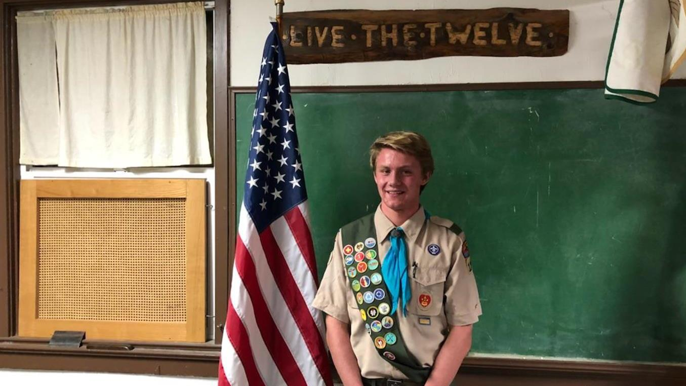 Finn Anderson Eagle Scout