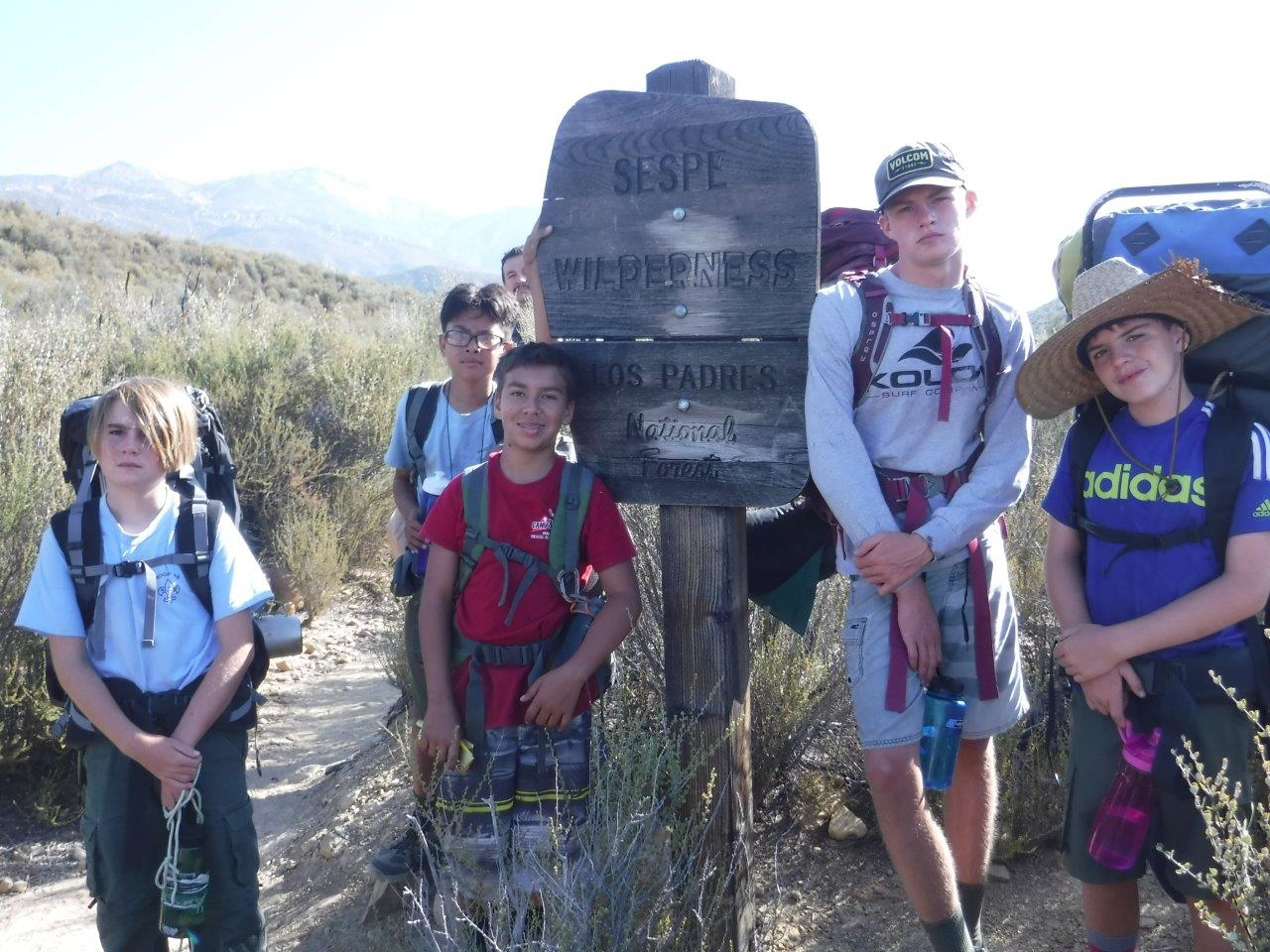 Piedra Blanca backpacking trip